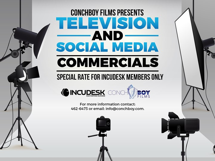 Conch Boy Films Television & Social Media Commercials